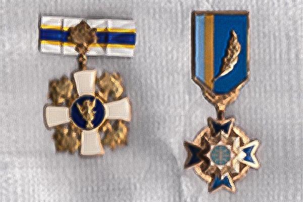 ウクライナからの勲章